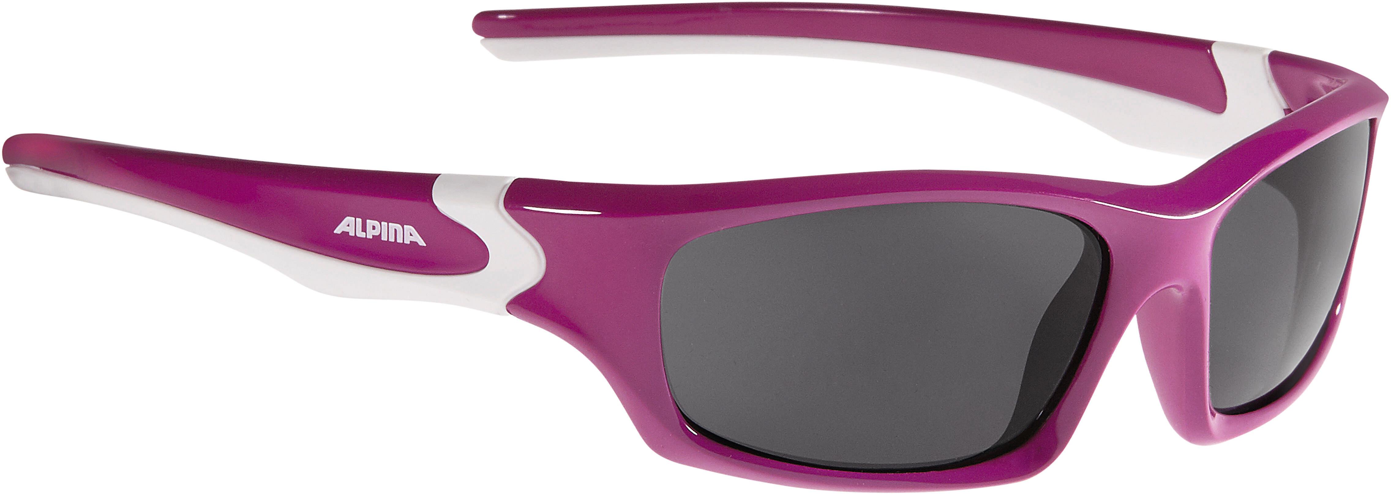 9b0d5e2132 Alpina Flexxy Teen - Gafas ciclismo Niños - rojo   Campz.es